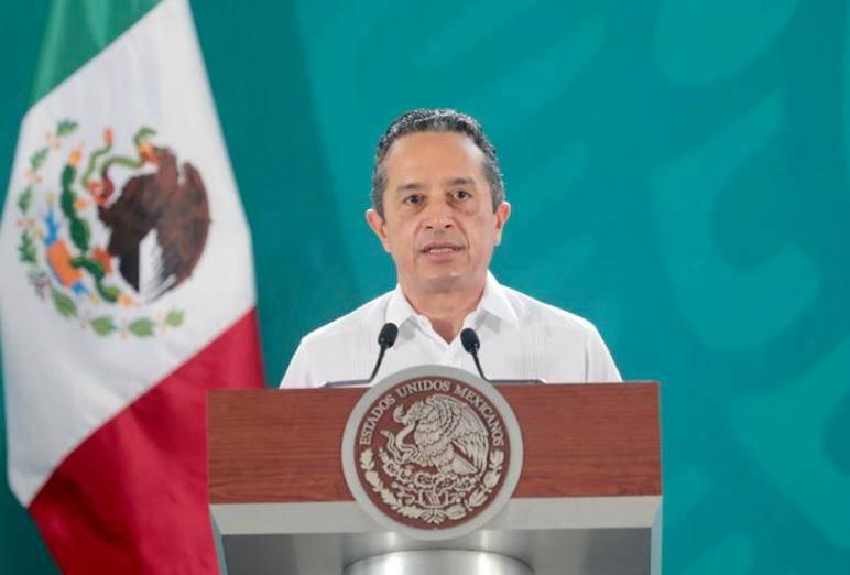 Gobernador de Quintana Roo pide vacunación anti-Covid para jóvenes de la entidad