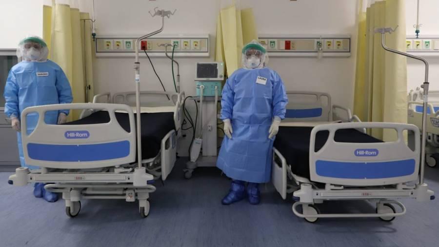 CDMX registra 18% de ocupación hospitalaria, la más baja