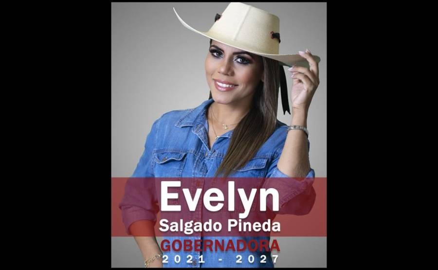 Evelyn Salgado apenas lleva tres días de candidata y ya gastó un millón de pesos