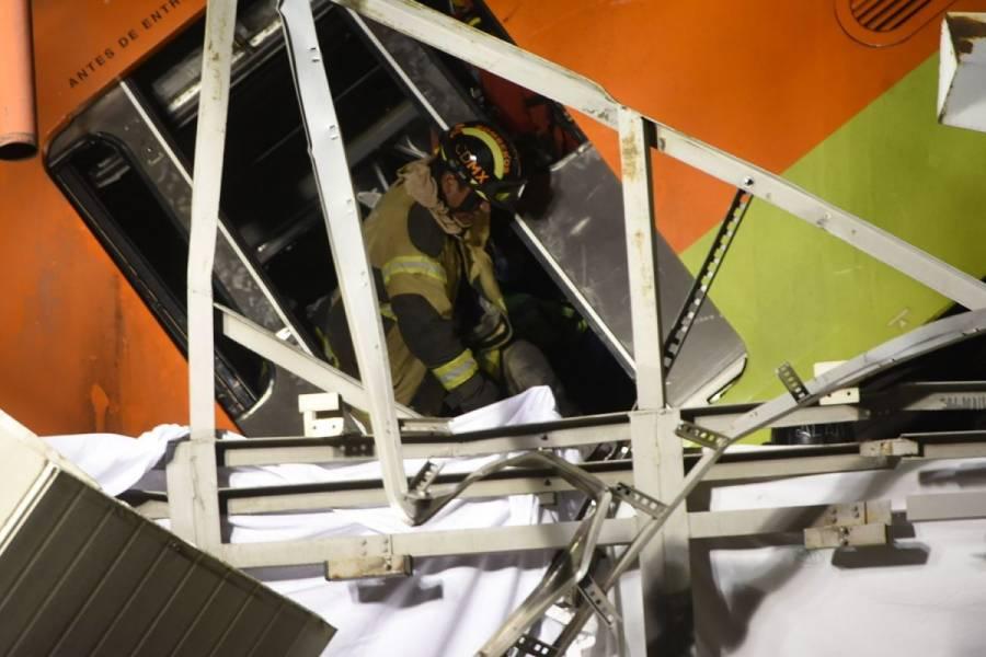 """""""Falla de obra civil"""" habría provocado colapso en Línea 12: secretario de sindicato del Metro"""