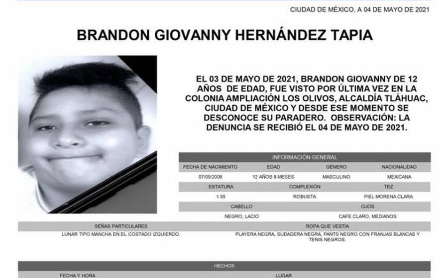 Hallan muerto a Giovanny, el niño desaparecido en tragedia del Metro