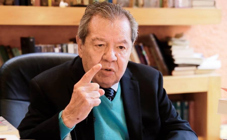 Muñoz Ledo inicia defensa de INE con apoyo de diversos partidos