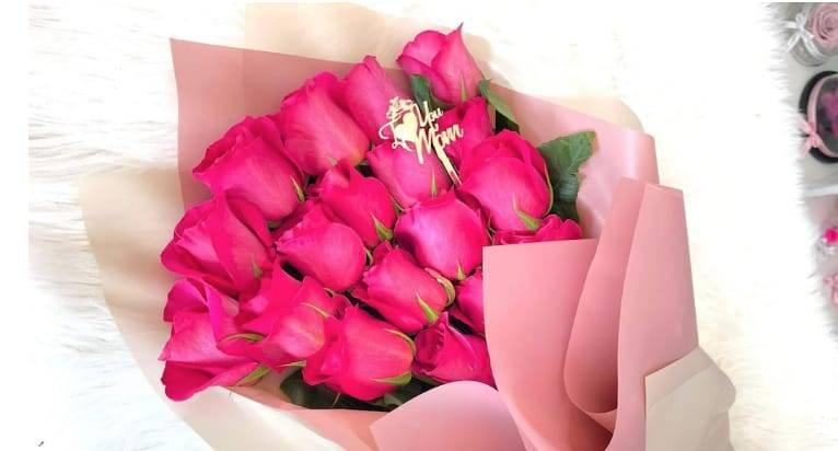 La Reina de las Flores muestra el mejor detalle para mamá en su día: un hermoso bouquet