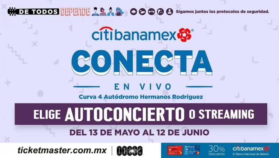 Ciudad de México albergará temporada de autoconciertos