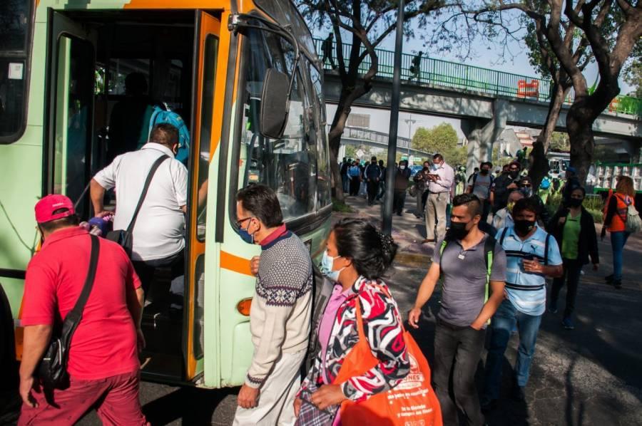 Autobuses RTP brindan servicio gratuito tras desplome en la línea 12 del Metro