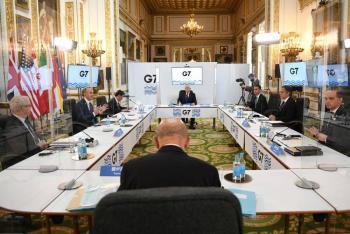 El G7 busca unidad frente a China en primer encuentro desde la pandemia