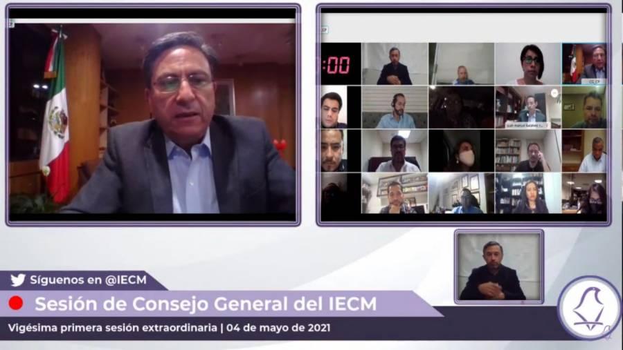 IECM aprueba modificaciones a boletas y actas para elecciones del 6 de junio