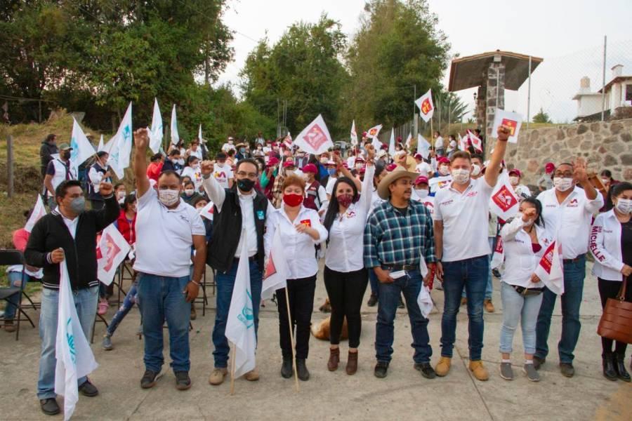 Dra. Michelle Núñez: revertiré rezago de obra pública e infraestructura deportiva en Valle de Bravo