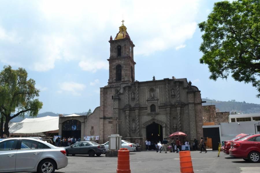 Vandalizan cúpula de la iglesia Preciosa Sangre en Gustavo A. Madero