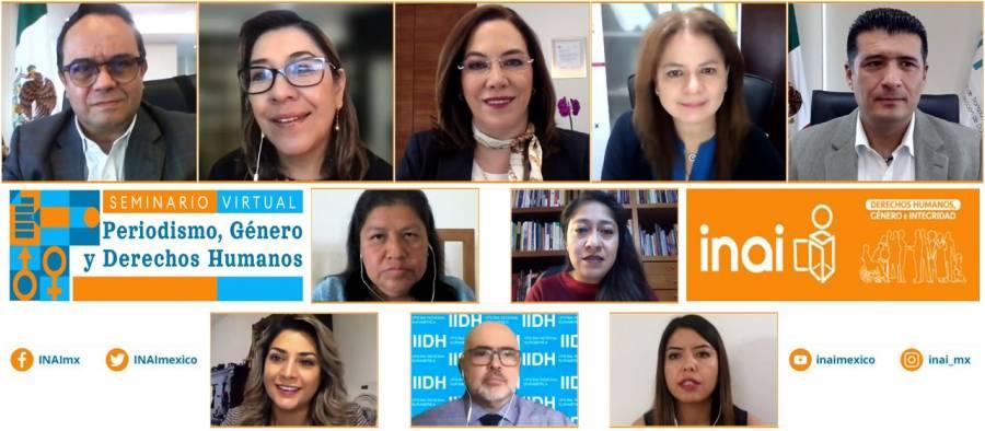 Mujeres periodistas corren más riesgo ejerciendo la libertad de expresión