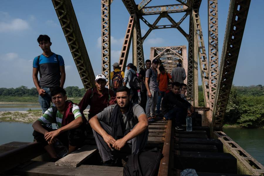 Buscan trato digno para migrantes de frontera sur