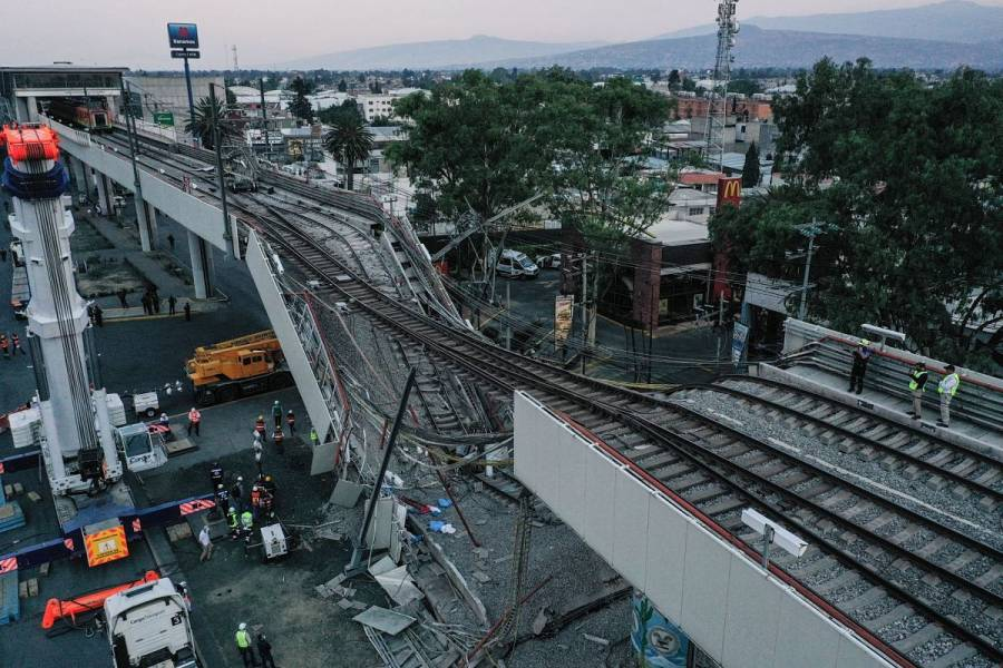 Ya son 25 muertos por el accidente en Línea 12 del Metro