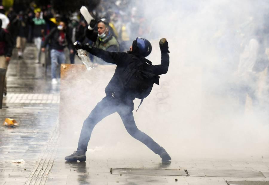 Este es el significado de A.C.A.B, siglas que aparecieron en las protestas en Colombia