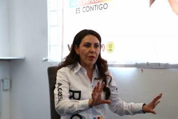 En Venustiano Carranza se aplicarán castigos a los que han saqueado la Alcaldía: Rocío Barrera