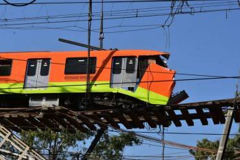 Dan de alta a 31 lesionados por colapso en la Línea 12 del Metro