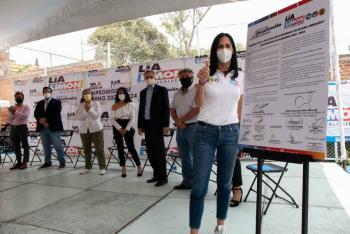 Se rescatarán negocios en AO: Lía Limón
