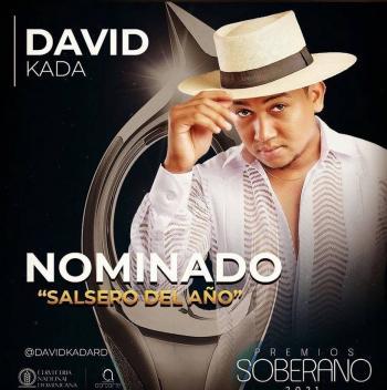 David Kada, nominado a Salsero del Año en Premios Soberano