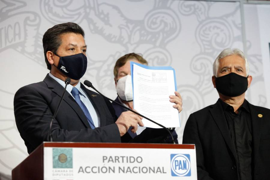 """""""Hay gobernador"""", Congreso de Tamaulipas descarta nombrar mandatario sustituto"""