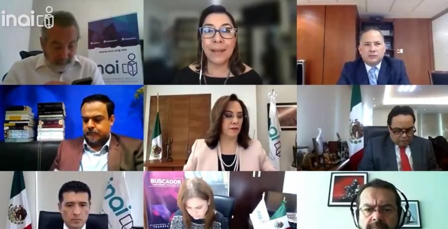 Santiago Nieto resalta la importancia de colaborar con el INAI para combatir la corrupción