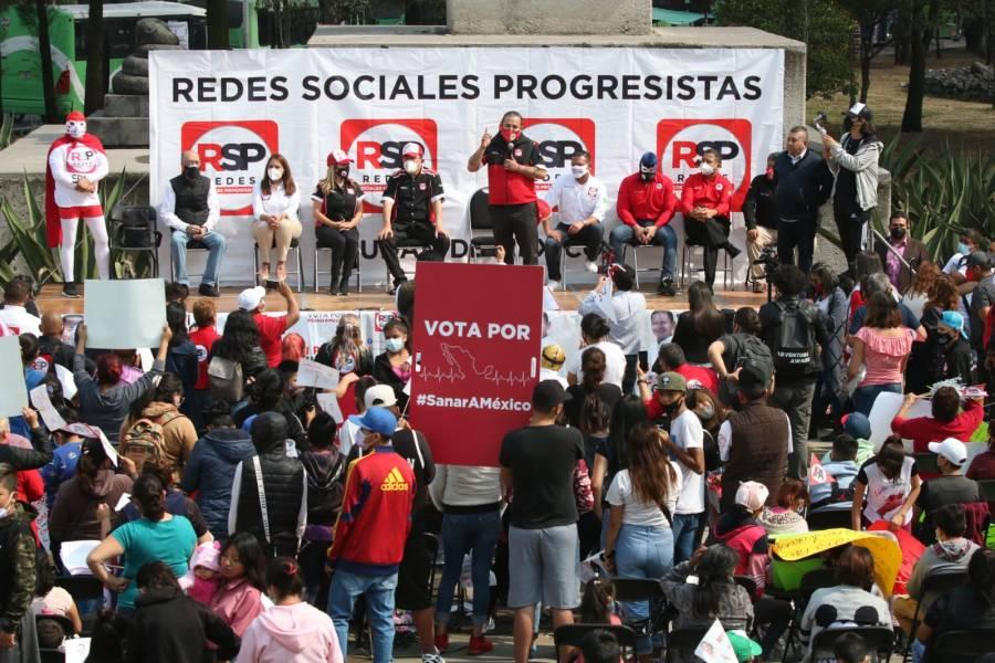 Pide RSP no votar por candidatos que buscan la reelección