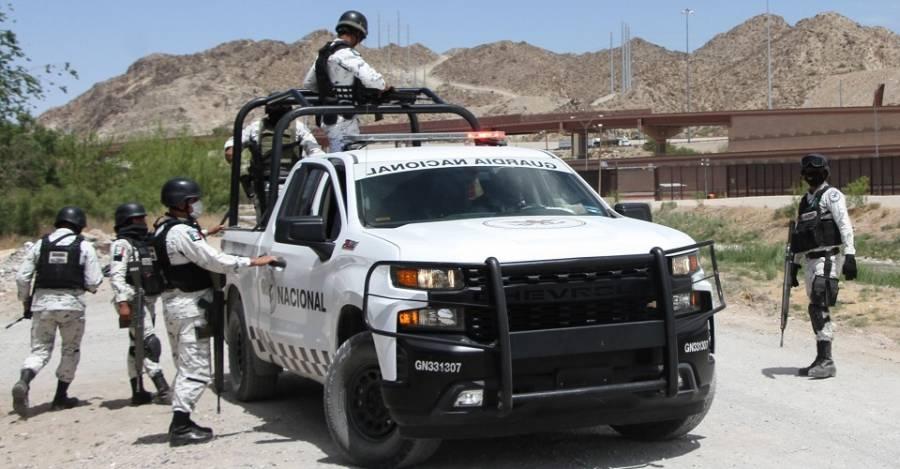 Debido a lo ocurrido en en Caborca, Sonora, la Guardia Nacional realiza investigaciones