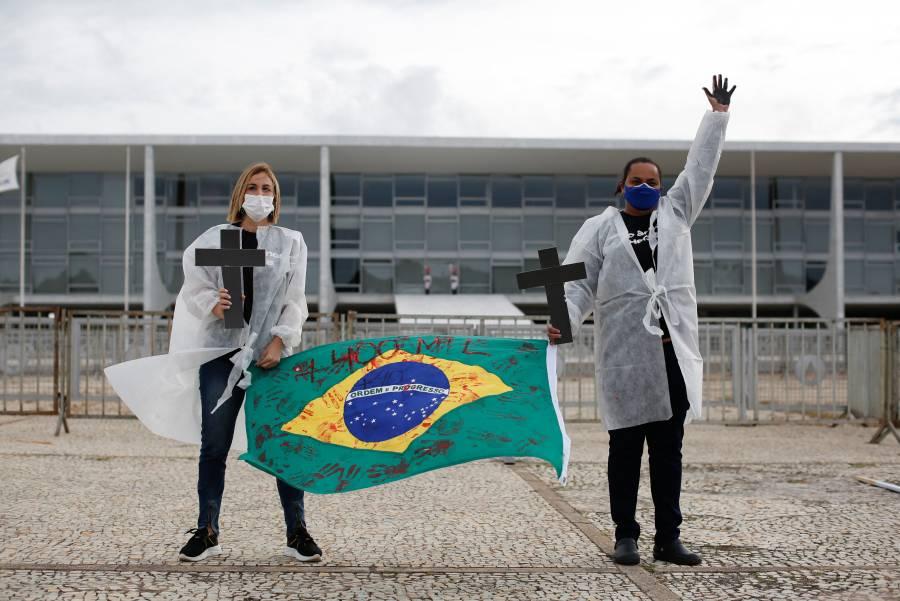 Brasil supera los 15 millones de casos confirmados de Covid-19 y más de 400 mil muertos