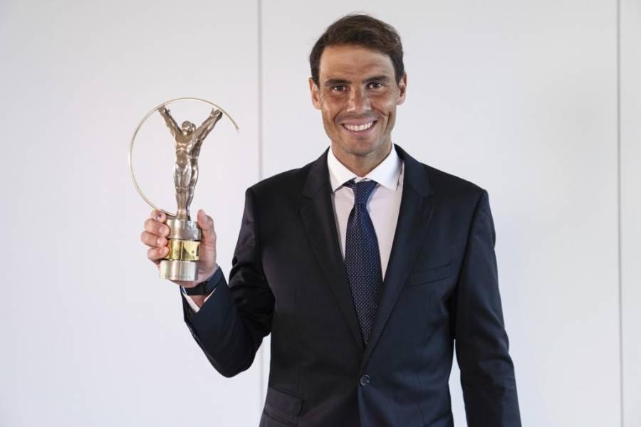 Rafael Nadal, ganador del Premio Laureus al Mejor Deportista de 2020