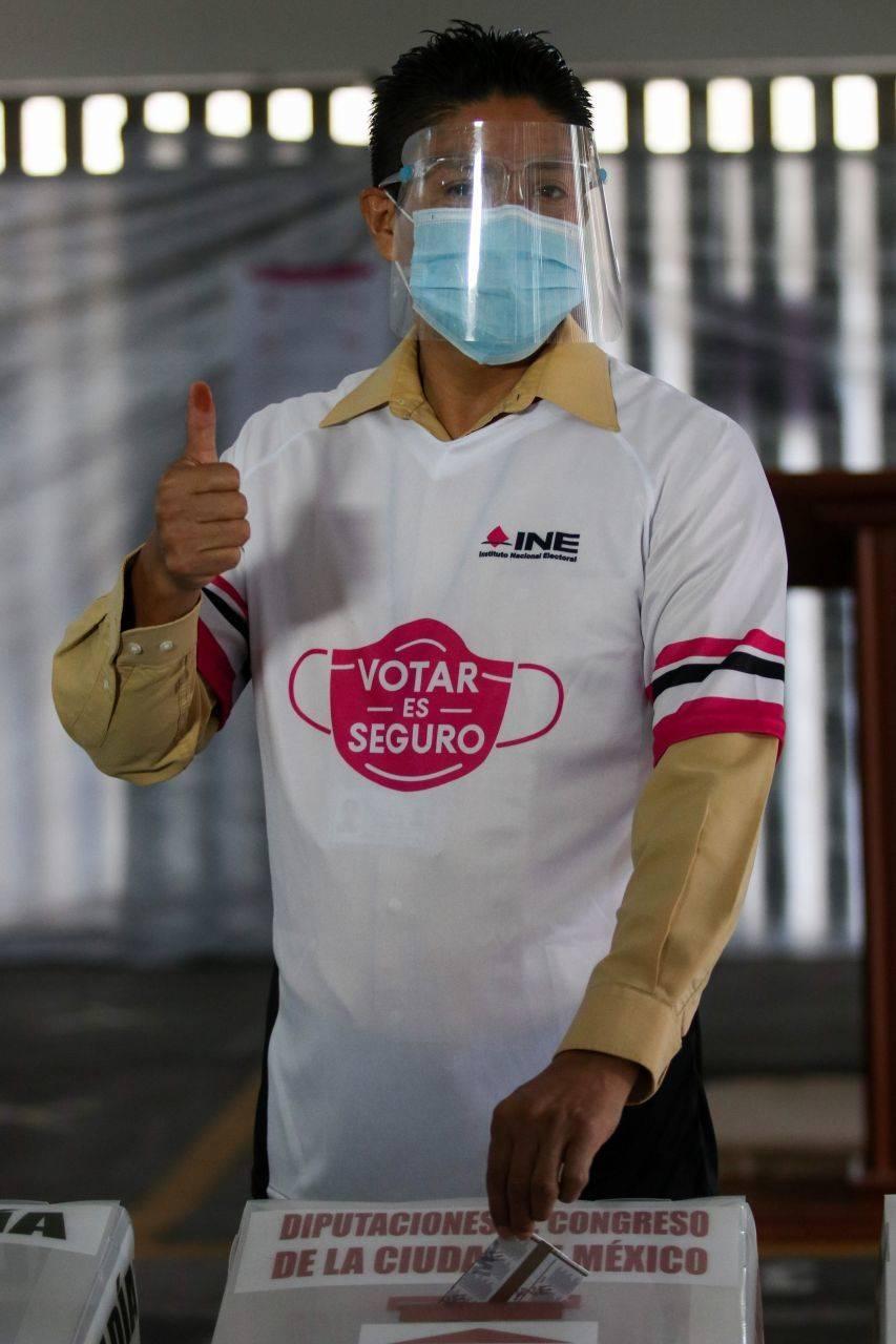 INE no descuida los protocolos sanitarios para la jornada electoral