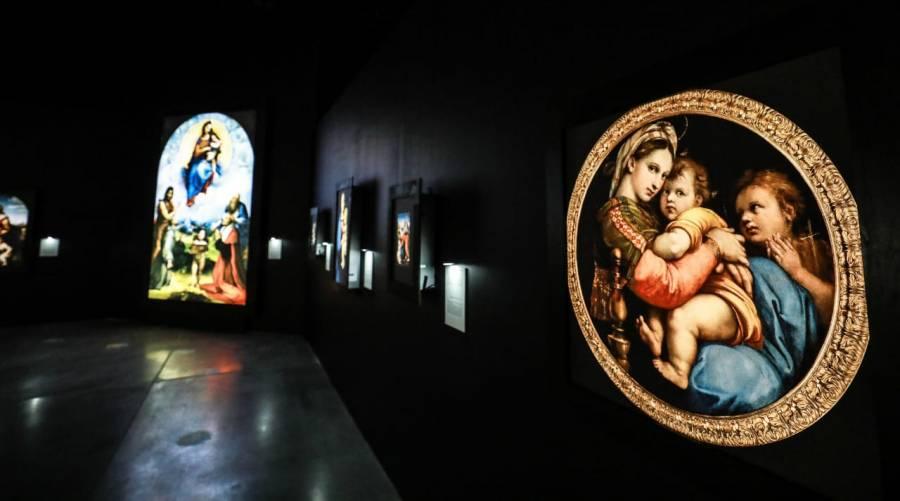 Exponen en Guanajuato la obra de Raffaello