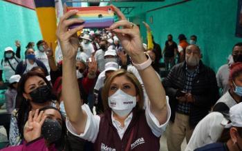INE podría cancelar candidatura de Mónica Rangel