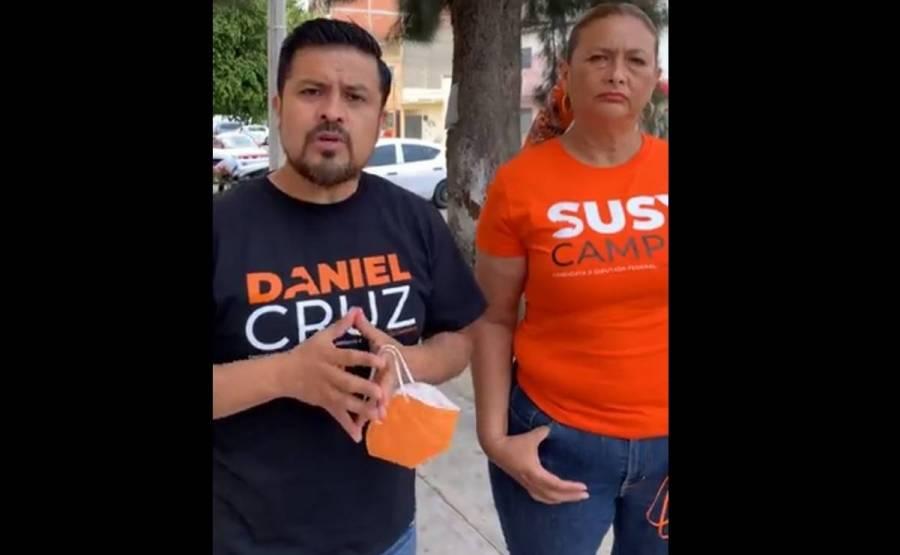 Grupos de choque nos agredieron en Venustiano Carranza: Movimiento Ciudadano
