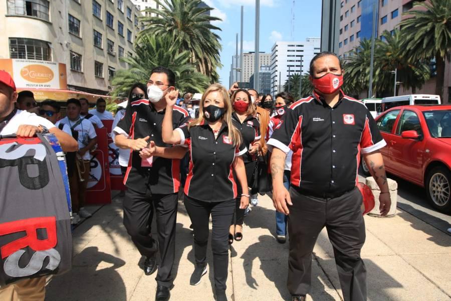 RSP muestra músculo en mítines, reunió a más de 20 mil progresistas en CDMX