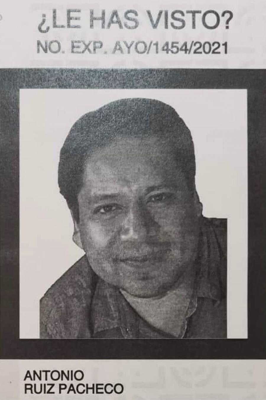 Buscan a Antonio Ruiz Pacheco, fue visto por última vez en la colonia Juárez, alcaldía Cuauhtémoc