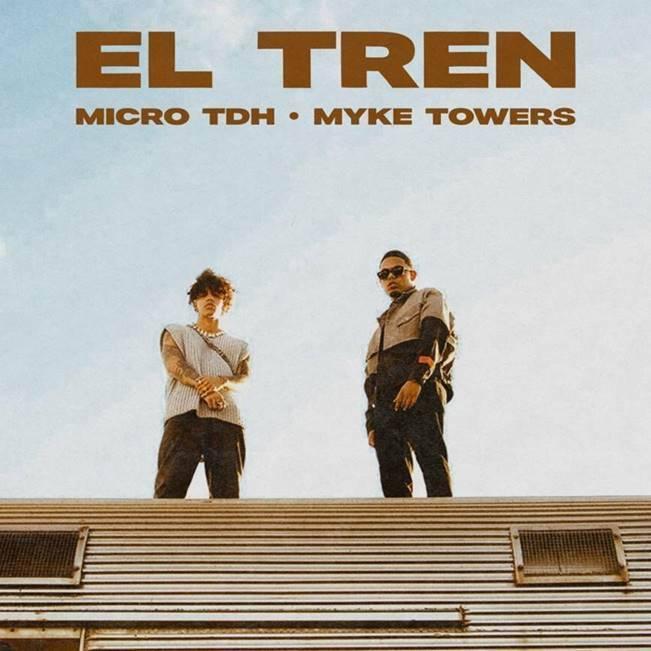 """Micro TDH y Myke Towers unen su talento en nuevo tema """"El tren"""""""