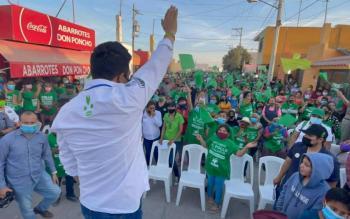 El Altiplano y la Zona media apoyan a El Pollo Gallardo