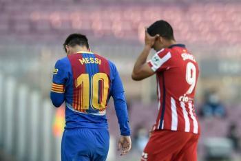 Barcelona y Atlético empatan sin goles; Real Madrid podría aprovechar