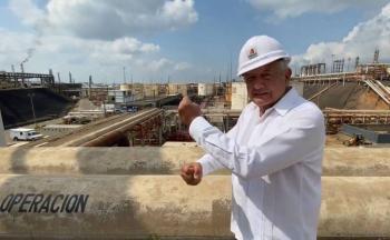 AMLO: Refinería de Minatitlán ya reinició operaciones