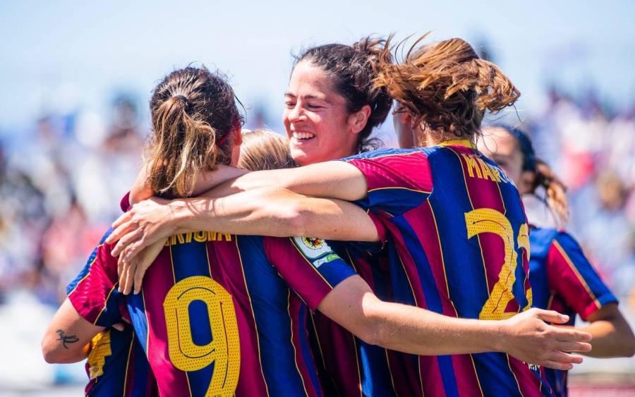 El Barcelona se proclama campeón de la Liga femenil en España