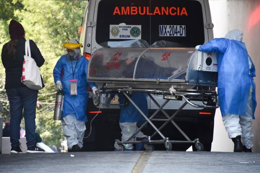 México acumula 218 mil 985 fallecidos por Covid-19, se suman 57 decesos