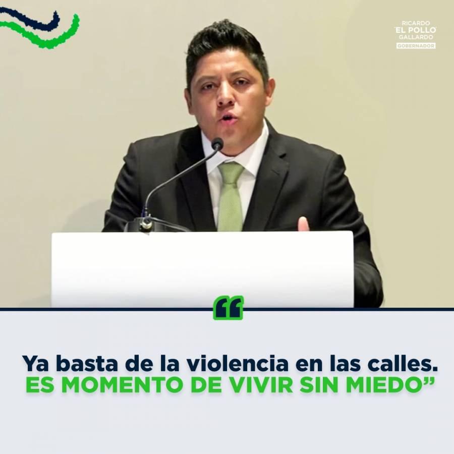 Gallardo arrasa en el debate por la gubernatura de San Luis Potosí