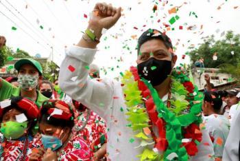 Ricardo Gallardo, listo para el debate, asegura tener el respaldo de la gente
