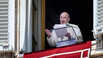 El papa Francisco llama al fin a la violencia en Jerusalén