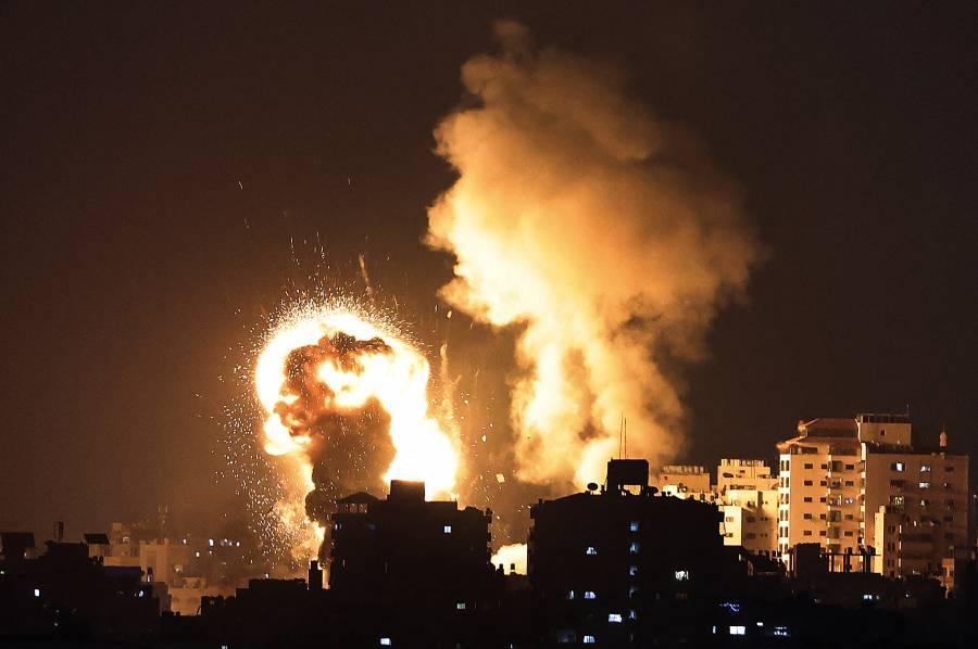 Bombardeos israelíes sobre Gaza, dejan nueve niños fallecidos