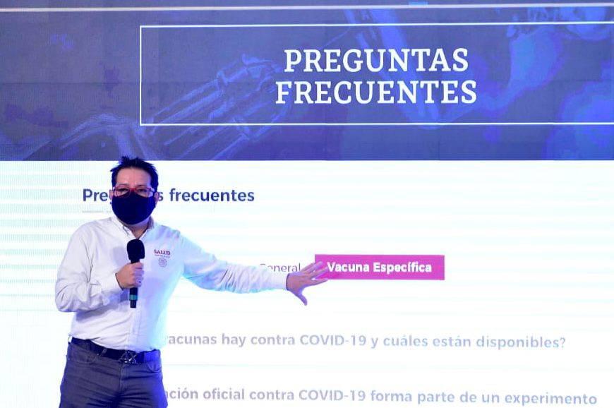 Lanzan Vacuna Covid, nuevo sitio web de la SSA sobre la pandemia