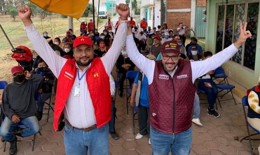 Se suma principal integrante de la campaña de Carlos Morales a proyecto de Mauricio Toledo
