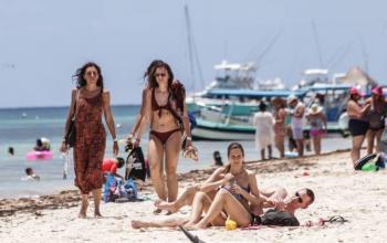Turismo internacional en México cae 17.4% durante marzo