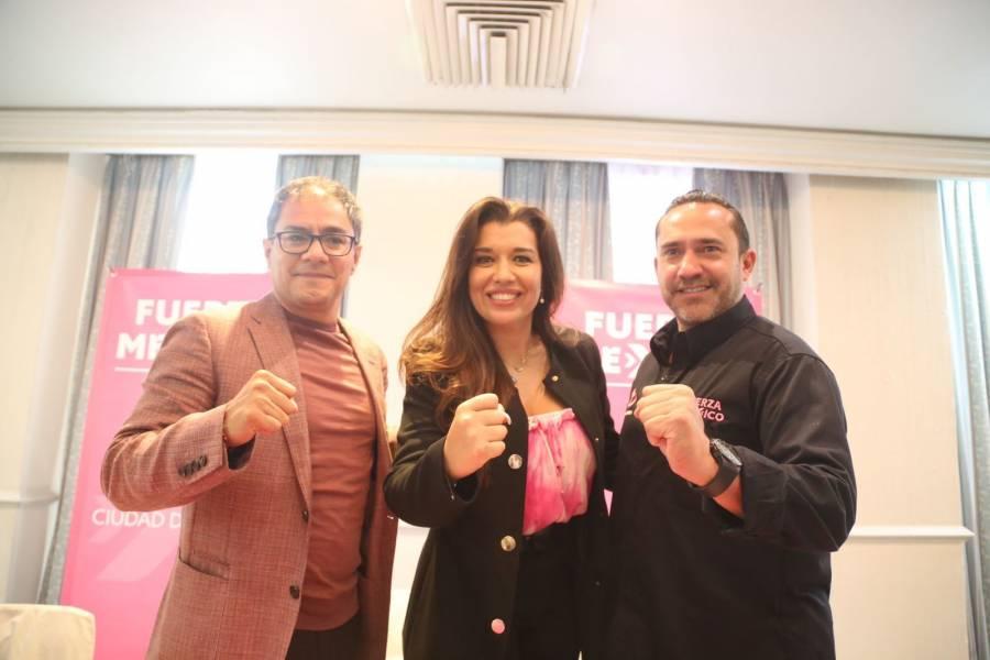 Hermano de Leonel Luna, se suma a campaña de Fuerza por México en Álvaro Obregón