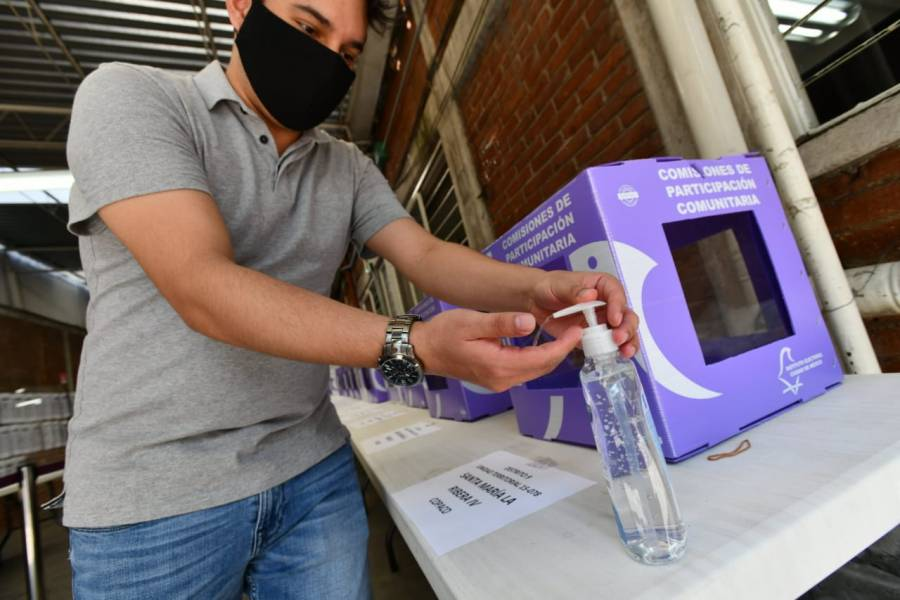 Listo IECM, para garantizar seguridad sanitaria el día de las elecciones
