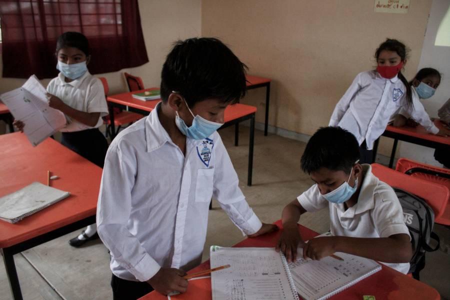 Demandan garantizar regreso a clases presenciales seguro