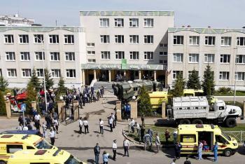 Tiroteo en escuela de Rusia deja al menos nueve muertos